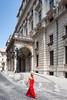 Woman in red - Hungarian State Opera House (nUNO pIRES, fotografia) Tags: red woman house opera state mulher vermelho vestido hungria hungarian ópera