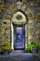 NYC doors Tudor city- (Singing With Light) Tags: city nyc ny walking photography march pentax manhattan 80 2012 k5 jjp 366 singingwithlight