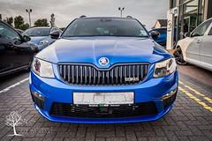 Race Blue Skoda Octavia mkiii VRS (Stu Worrall Photography) Tags: blue race tdi front assist vs rs skoda octavia vrs mkiii mk3 dsg raceblue
