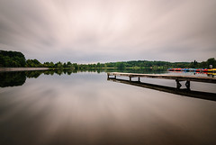 Jetty (YaYapas) Tags: lake deutschland see jetty saarland steg langzeitbelichtung longtimeexposure 14mm d80 nd110 losheimamsee bwnd110 tokina1116