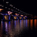 Kuokkala bridge at night