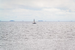 Till havs-1 (Alpstedt) Tags: sailboat coast nikon sailing balticsea stersjn segelbt skrgrd kust femre nikon18200mm segla nikond3100