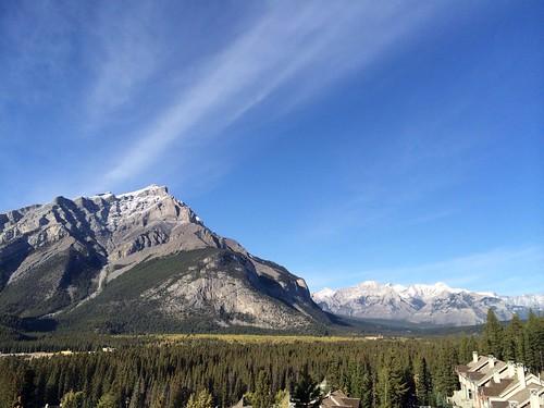 Blick auf den Banff Nationalpark