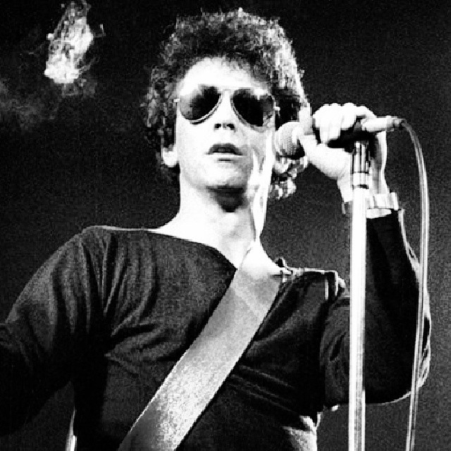 RIP LOU REED #VelvetUnderground #satelliteoflove #perfectday #artist