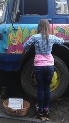 Eden Project, England (Soma Sebestyn) Tags: england girl truck project colours harmony eden