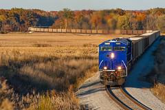 SVTX 1986 EVWR SS1 Macedonia IL 03 Nov 2013 (Train Chaser) Tags: es44ac evwr evansvillewestern sitran svtx svtx1986 evwrss1