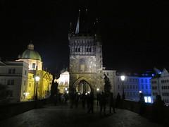 Czech Republic - Prague - Stare Mesto - Charles Bridge - Old Town Bridge at Night (JulesFoto) Tags: night view prague czechrepublic charlesbridge staremesto malastrana
