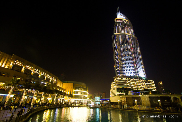 The Dubai Mall, In The Night, Dubai