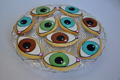 Eye ball cookies