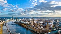 London Eye (Nosrebor) Tags: england panorama london english thames nikon londoneye bigben metropolis hdr thamesriver londonhdr viewfromthelondoneye nikond7000 thamesriverinlondon