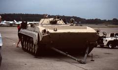 Ex-Iraqi BMP-1 (rjl6955) Tags: lexington massachusetts 1991 arb afb desertstorm airforcebase airforcereserve bmp1 hanscomairforcebase hanscomafb militaryairliftwing 439maw 439thmaw militaryairwing