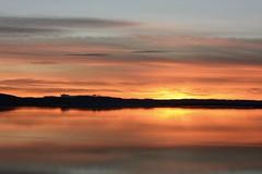 Pastel Reflections. (stonefaction) Tags: park sunset nature scotland twilight riverside dundee dusk tay gloaming