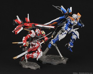 MG Red and Blue Frame Astray - Photo Test by Judson Weinsheimer