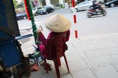 Third (Javinsky) Tags: street woman newspaper vietnam hanoi seller