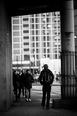 Nikon D700 + Sigma 150 f/2.8 (bHaugland) Tags: street bw white black macro field oslo norway underpass lens photography blackwhite nikon europe dof bokeh sigma 150 ii short mm fullframe fx scandinavia depth f28 dg hsm fullformat d700