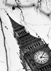 Big Ben UK Parliament (MarianaFC26) Tags: door uk roof house building tree london clock window architecture leaf day branch cross arm time mark watch parliament bigben hour moment