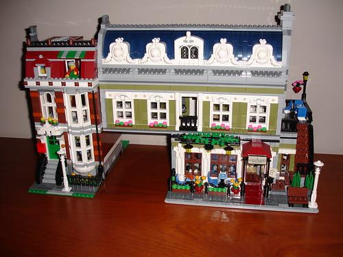 Progression On Mod Lego 10243 Parisian Restaurant Xl A Photo On