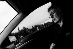 ((Jt)) Tags: portrait blackandwhite canada window monochrome car newfoundland project grandmother documentary fujifilm photoessay jtinseoul