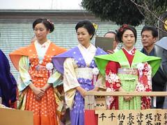 杏 財前直見 松浦雅 / Anne, Naomi Zaizen and Miyabi Matsuura in Narita-san - Neyagawa, Osaka