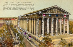 A design for all times (catarina.berg) Tags: paris france classic church architecture oldpostcard lamadeleine