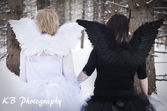 Black and White Swan (KB Photography 2011) Tags: black fashion fairytale photography swan fashionphotography whiteswan portraitphotography canon2470mm canon6d fairytalephotography