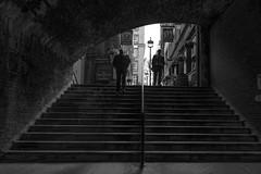 Up/Down (Oakesjohn) Tags: street blackandwhite london blackwhite canon5dmkiii