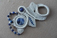 ciondolo liberty (patty macramè) Tags: bijoux macrame gioielli accessori margarete macramè margaretenspitze