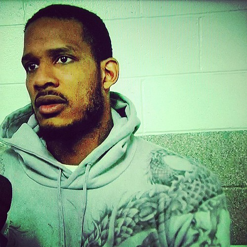 Trevor #ArizaBruh, the man with the dragon sweatshirt. #Wizards