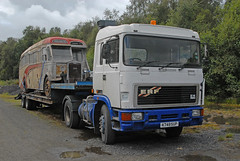ERF E14 - SVBM Lathalmond 2016 (john_mullin Thanks for 11 million views) Tags: scotland scotish british transport show rally festival vehicles vehicle truck trucks lorry lorries hgv haulage commercials heritage legacy preservation lathalmond dunfermline fife