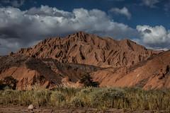 Desertous mountain (Chile) (Piotr_PopUp) Tags: quebradadeldiablo sanpedrodeatacama antofagasta atacama chile losflamencos desert desierto mountain mountains landscape nature latinamerica southamerica cloud clouds