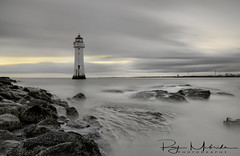 """""Perch Rock Sunset"" (Surreal Sunset) (Ray Mcbride Photography) Tags: lighthouse perchrock newbrighton"