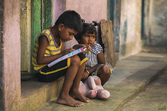 Education is the best weapon against poverty (jithin_devan) Tags: cwc photowalk strret photography chennai