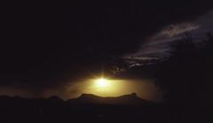 (MegHan Seidel) Tags: medium format film monsoon season southwest arizona sunset sunsets photography ravel nature desert horizon land contrasts kodak400nc 120 kodak 400nc mamiya645 mamiya 645