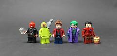 A Very Excusive Club (Kaiju Dan) Tags: heathledger joker ironman redskull robertdownyjr ericandre hugoweaving birthday lego