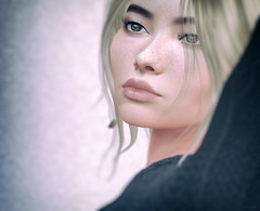 Fei Jane (Stan&Lola [Photograph/Blogger/Custom Poses]) Tags: genesislab bentohead secondlife portrait skin applier head