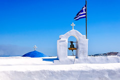 Bell (Kevin R Thornton) Tags: stjohn d90 nikon travel mediterranean greece monastiri architecture bell paros egeo gr
