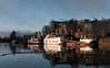 Morning in Skien (_quintin_) Tags: ocean harbor skien norway boats