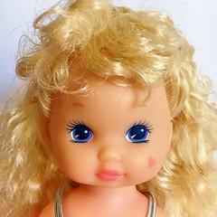 1991 Wee Li'l Miss Makeup - Lipstick Doll (The Barbie Room) Tags: 1991 wee lil miss makeup lipstick doll 1990s 90s mattel