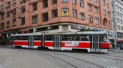 Brno, Masarykova 21.10.2016 (The STB) Tags: brno tram tramway strassenbahn strasenbahn tranvía tramvaj tramvaje tramvajovádopravavbrně tatra tatrawagen čkd českomoravskákolbendaněk