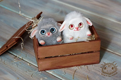 (rioky_angel) Tags: riokycreatures creature cute fantasy furry fluffy monster handmade artdoll arttoy polimerclay clay ooak toys toymaker creativity