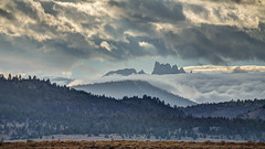 The Minarets with Fog and Clouds (Jeffrey Sullivan) Tags: the minarets mammoth lakes weather sierra nevada california usa landscape nature canon 5dmarkiii road trip photo copyright 2012 october jeff sullivan clouds