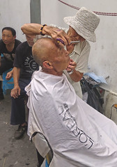 Barber of S...hanghai (poludziber1) Tags: city colorful cityscape color colorfull street summer streetphotography people travel urban china shanghai mpt537 matchpointwinner