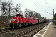P1090052 (Lumixfan68) Tags: eisenbahn züge güterzüge loks baureihe 151 261 elektroloks dieselloks deutsche bahn db cargo sechsachser voith gravita 10bb