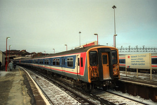 5739 & 5730, Clapham Junction, February 13th 1996