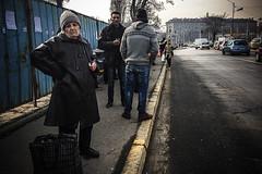 Not this again (Melissa Maples) Tags: софия sofia българия bulgaria europe apple iphone iphone6 cameraphone winter pavement traffic street road bulgarian elderly woman