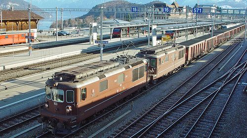 Re 4/4 163 + Re 4/4 182