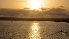 Sunset View (Blue Rave) Tags: 2017 clouds sunset bay sandiego ca california water sandiegobay