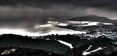 """Sprazzi di luce (wallace39 """" mud and glory """") Tags: ceuta baia spagna paesaggio landscape mare sea nubi clouds luce light hdr autofocus"""