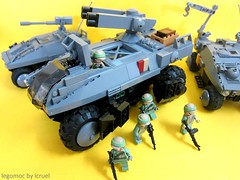ICC Grizzly Mk1 (icycruel) Tags: lego moc scifi military vehicles apc troop carrier outpost charlie