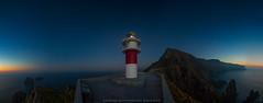 BLUE (Emilio Rodríguez Álvarez) Tags: ortegal cabo galicia paisaje landscape sea atlantico cantabrico pano panoramica nocturna faro ligthouse rocas agua